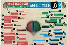 Collegiate IQ Charting Infographics
