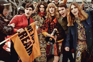 The Just Cavalli Fall 2013 Campaign Takes a Fashionable Stand