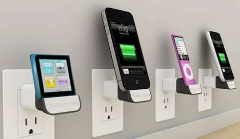 Wall-Mounted Tech Devices