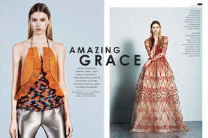The Sunday Times Style 'Amazing Grace' Editorial Stars Sigrid Agren