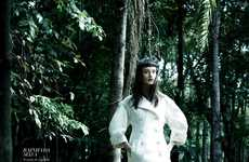 Naturalistic Forest-Ready Fashion