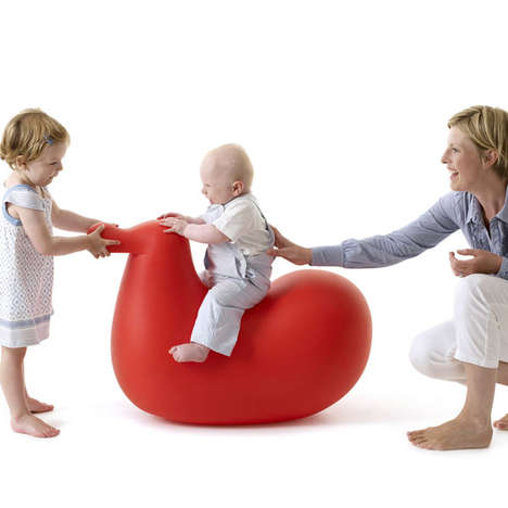 Baby-Cradling Bird Chairs - The Dodo Rocking Bird is a Cute Take on a Children's Rocking Horse