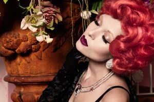This Glamorous Series Features Burlesque Style Fashion