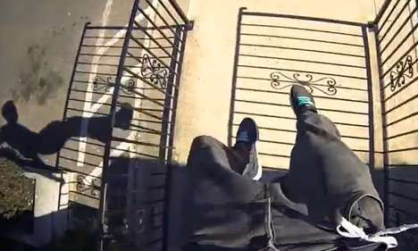 Frightening POV Parkour Videos - This Video from Ampisound is Both Thrilling and Frightening