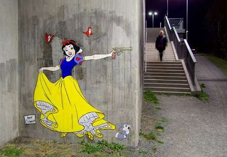 princess street art