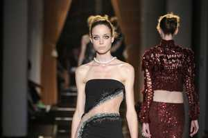 The Atelier Versace Fall 2013 Couture Shows Off a Lot of Skin