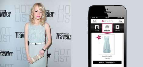 Fashion-Grabbing Apps - The 'Snap Fashion' App Finds Outfits for You Using Snapshots