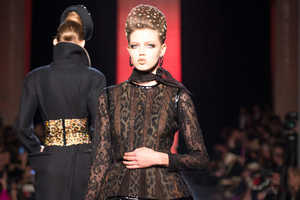 Jean Paul Gaultier's F/W 2013 Collection Makes a Grand Statmen