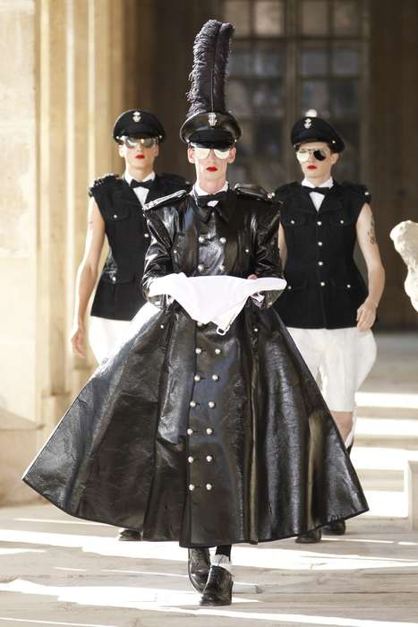 Flamboyant Militaristic Apparel - The Thom Browne Spring 2014 Clothing is Less Strict Than it Seems