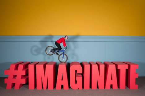 Surreal Artistic Biking Stunts - Red Bull and Danny MacAskill Combine to Create 'Imaginate&#82