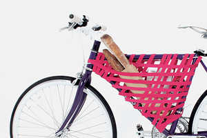 This Net-Style Bike Storage Design is Easy to Assemble