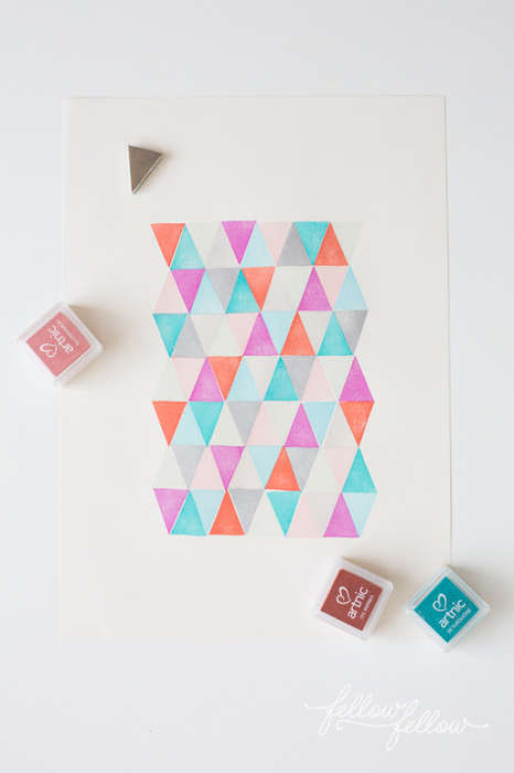 DIY Stamp Art