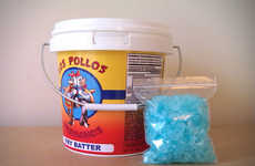 Drug Dealer-Inspired Candy - This Breaking Bad Los Pollos Hermanos Blue Meth Candy is Delicious