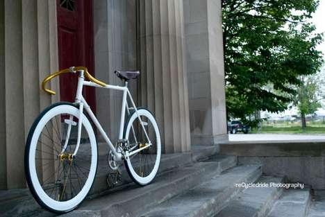 Simple Stylish Upcycled Bicycles - The Phantom is the Creation of Multiple Refurbished Bike Parts