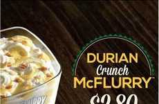From Durian 'Stink Fruit' Crunch to Baci Chocolate Blends