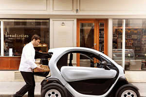 The Renault Twizy Cargo is Designed for Urban Deliveries