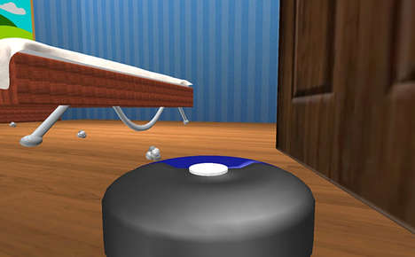 Sarcastic Appliance Sim Games - The Robot Vacuum Simulator 2013 Lets You Live the Life of a Roomba