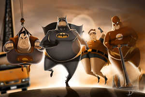 Carlos Dattoli Depicts Iconic Superheroes Who are in Need of a Diet
