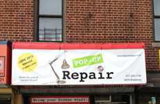 Temporary Recycling Stores - The Pop Up Repair Shop in NYC is Aimed at Reducing Waste
