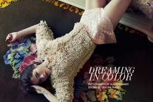 The Fashion Gone Rogue 'Dreaming in Color' Photoshoot Stars Alba Galocha