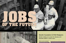 Futuristic Employment Infographics - Degree Query Provides a Realistic View of Jobs in the Future