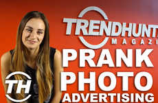 Prank Photo Advertising - Misel Saban Unveils How the Adobe Photoshop Prank Caught People Off-Gaurd