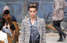 Luxe Apocalyptic Fashion - The Chanel Fall/Winter Couture Show is Stylishly Utilitarian