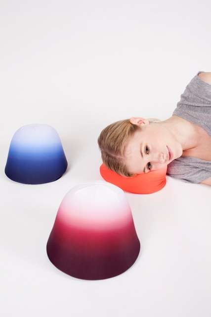 Gumdrop-Inspired Travel Cushions - The Truffle Snooze Pillow Conforms to Your Sleeping Position