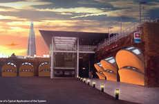 Urban Trainstation Abodes - LOL by CSRArchitects Puts Prefab Lofts into Railway Arches