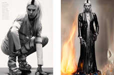 Literally Fiery Fashion Photography