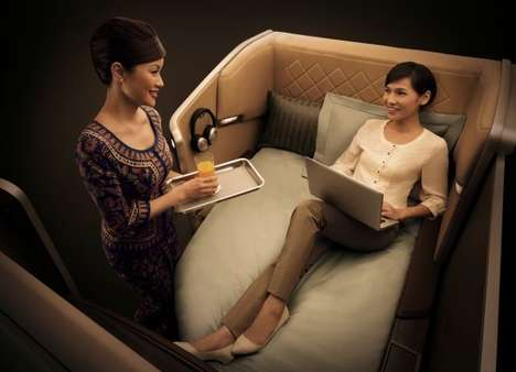 Luxurious Travel Accommodations - BMW First Class Creates a Phenomenally Ostentatious Way to Fly