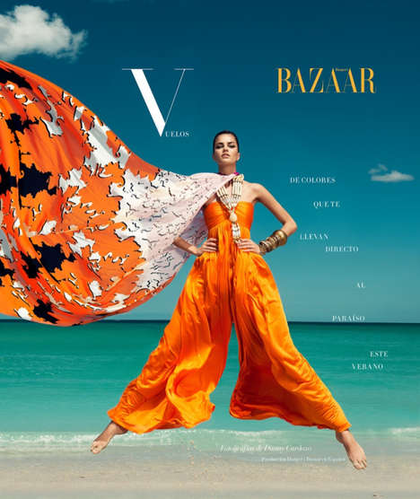 Harper's Bazaar Mexico July 2013