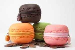 These Macaron-Shaped Coin Purses Smell Like French Macarons