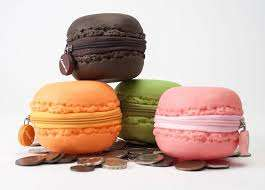Scented Confectionery Cookie Purses - These Macaron-Shaped Coin Purses Smell Like French Macarons