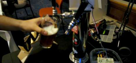 Automated Bartender Kegs - The Robokeg Recommends Drinks Before Serving Them and Charging You