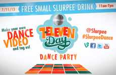 Free Frosty Beverage Campaigns - Slurpees Are Free on July 11th to Mark 7-Eleven's 86th Anniversary