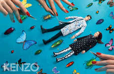 Diorama-Sized Fashion Ads - The Kenzo x Toilet Paper Autumn/Winter Campaign is Childlike Fun