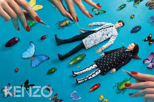 The Kenzo x Toilet Paper Autumn/Winter 2013 Campaign is Childlike Fun