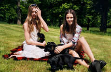 English Countryside Lookbooks - The Urban Outfitters Late Summer Catalog is Youthfully Relaxed