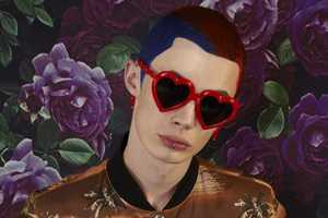 This Fashion Series by Billy Kan Features Punk Men in Bright Clothes