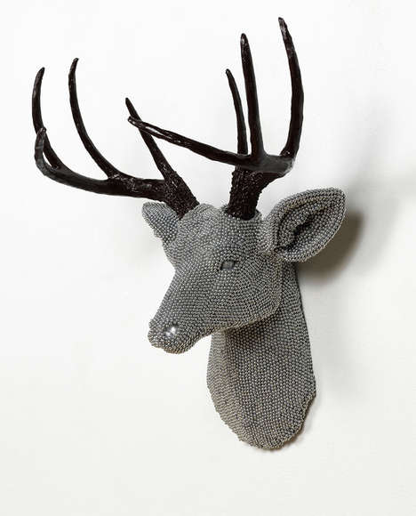 Air Rifle BBs Taxidermy - Urban Herd by Courtney Timmermans is Full of Depth and Texture