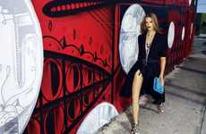 Elegant Graffiti-Filled Editorials