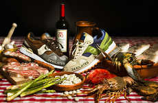 Cornucopian Food Sneaker Ads