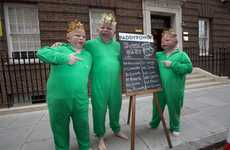 The Paddy Power Babies Promote Betting on the Royal Child