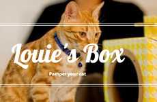 Earth-Conscious Cat Homes - Louie's Box is Environmentally Friendly and Purrfect for Your Feline