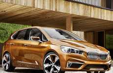 Cyclist-Focused Concept Cars - The BMW Concept Active Tourer Outdoor Was Built with Bikers in Mind