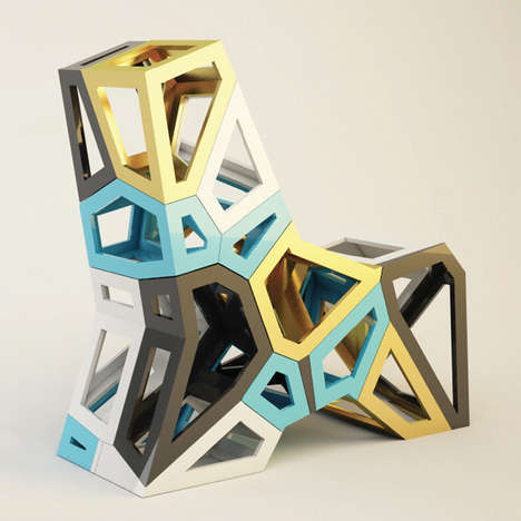 Lasercut Material‐Optimized Furniture