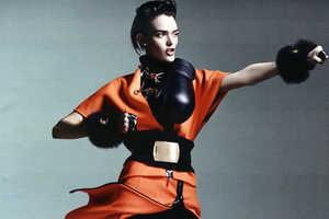 Sam Rollinson Finds Her Inner Fighter for Interview Magazine