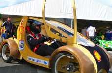 Cardboard Eco Racecars