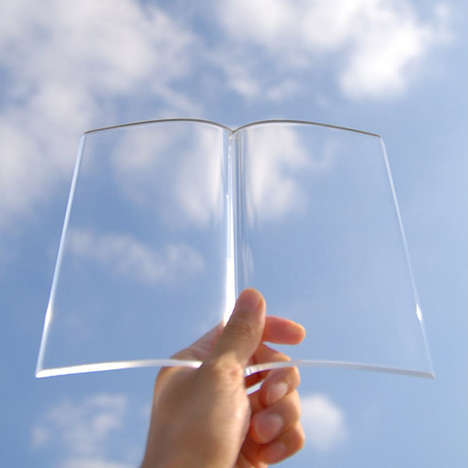 See-Through Study Tools - This Transparent Acrylic Paperweight is Designed for Messy Students